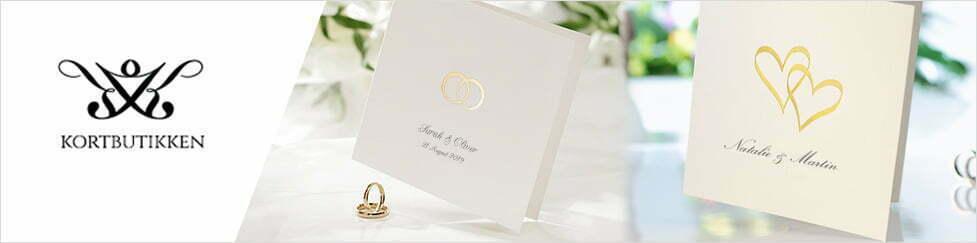 Bordkort invitasjoner bryllup